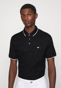 Emporio Armani - Polo shirt - nero - 3