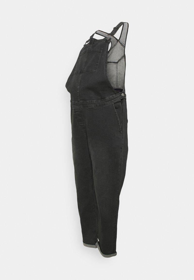 Forever Fit - DUNGAREE - Haalari - washed black