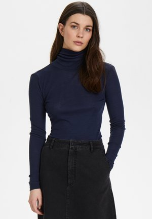 WILMAGZ  - Long sleeved top - peacoat
