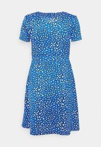 Tommy Jeans - FLARE LEO PRINT DRESS - Jersey dress - blue - 7