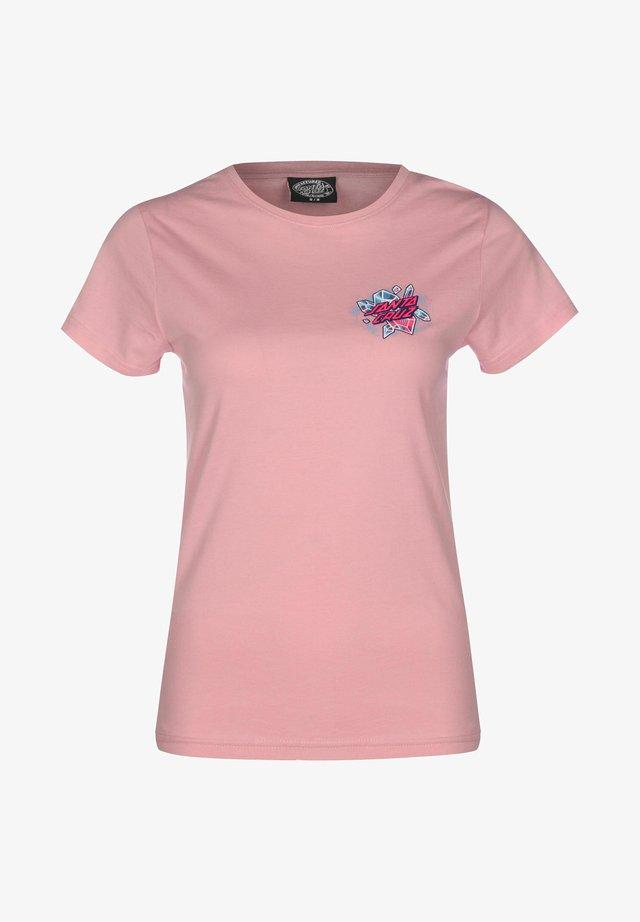 T-shirt imprimé - dusty rose