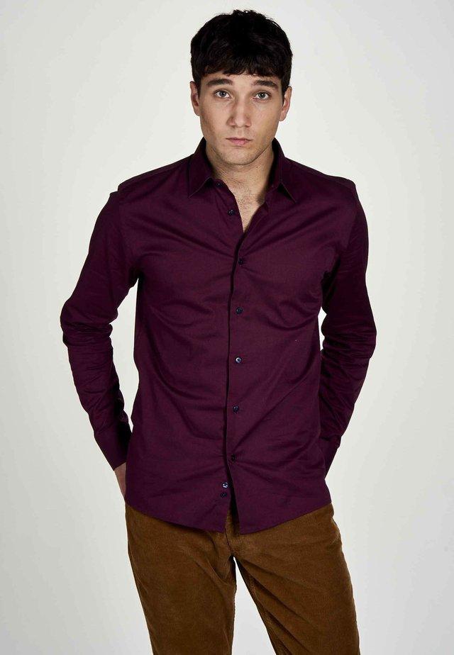 Overhemd - maroon