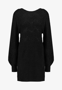 Ivyrevel - POINTELLE DRESS - Robe pull - black - 4