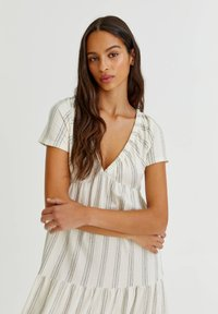 PULL&BEAR - Maxi dress - white - 3