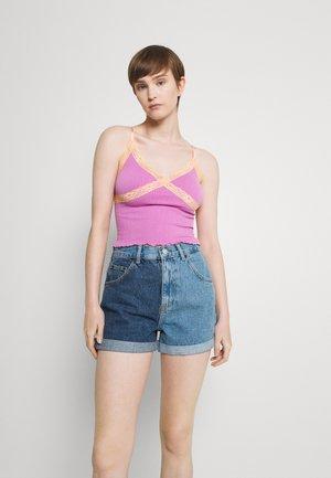CROSS CAMI - Top - pink/orange