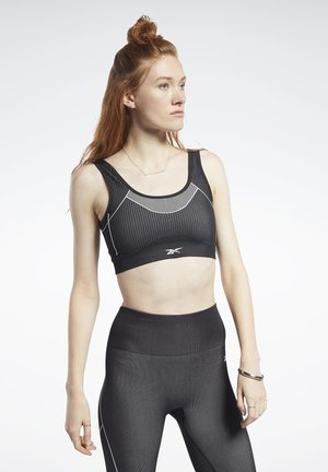 MEET YOU THERE LOW-IMPACT BRA - Sujetador deportivo - black