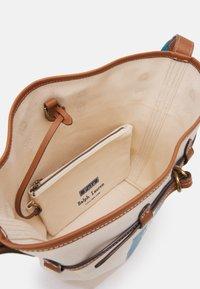 Polo Ralph Lauren - POLO PRINTED SET - Handbag - ecru/blue - 2