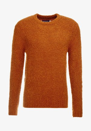 JORLAMB CREW NECK - Jumper - mocha bisque