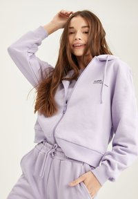 DeFacto - Zip-up hoodie - purple - 3