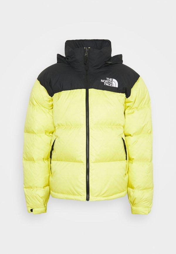 The North Face 1996 RETRO NUPTSE JACKET UNISEX - Kurtka puchowa - sulphur spring green/żÓłty Odzież Męska WDEV