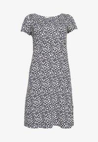 DRESS - Jersey dress - navy blue