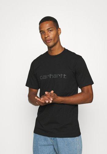 SCRIPT - Print T-shirt - black/grey