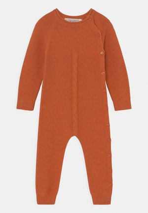 YACI BABY ROMPER UNISEX - Jumpsuit - rusty orange