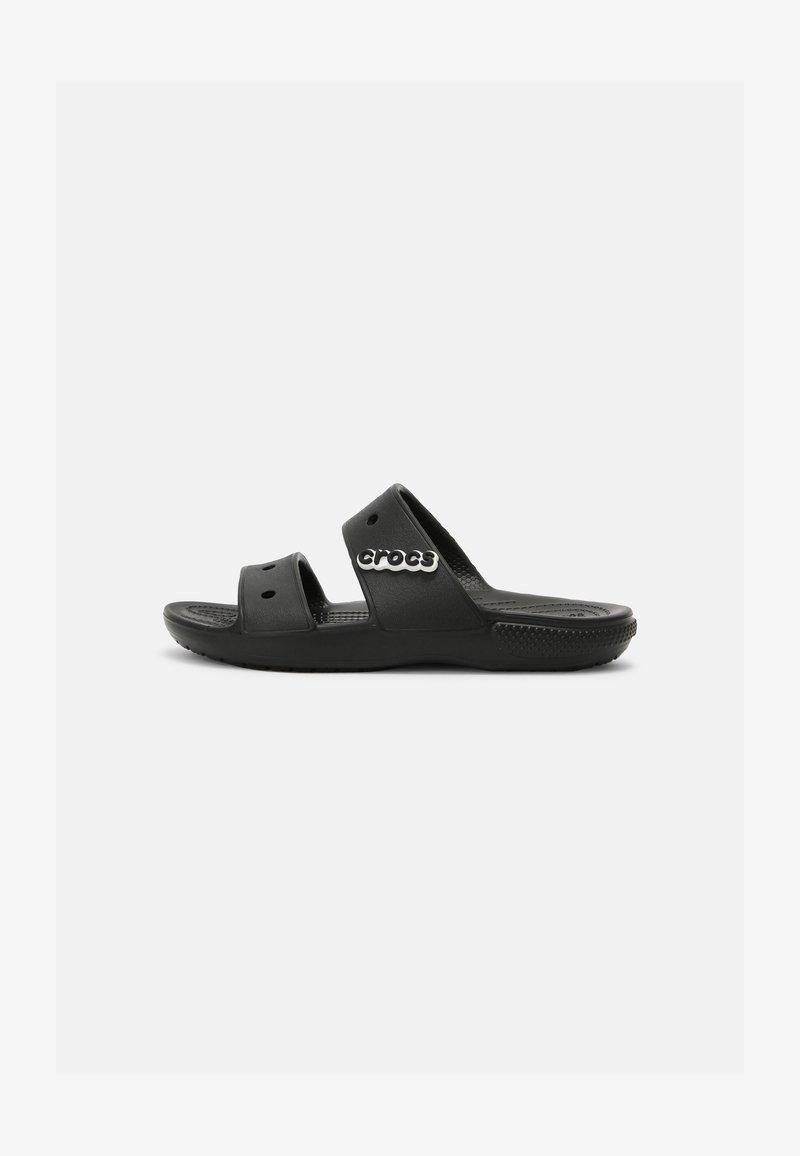 Crocs - CLASSIC UNISEX - Sandalias planas - black