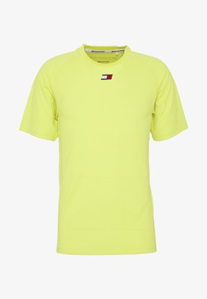 TRAINING CHEST LOGO  - Print T-shirt - green