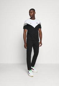 Puma - BMW TEE - Print T-shirt - black - 1