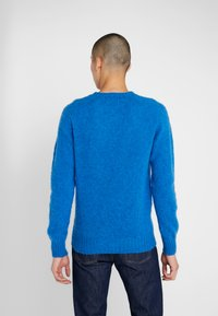 YMC You Must Create - SUEDEHEAD CREW - Maglione - blue - 2