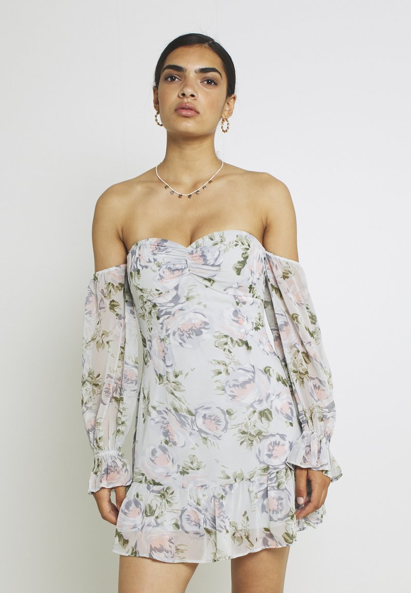 Nly by Nelly - LOVESTRUCK FLOUNCE DRESS - Cocktail dress / Party dress - multicoloured