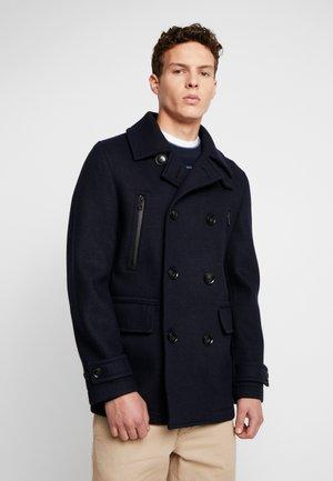 Short coat - marine sombre