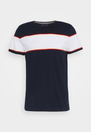 TEE - Print T-shirt - dark navy