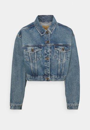 BUSBOROW - Džínová bunda - blue dirty