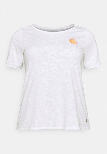 FRONT ARTWORK - Print T-shirt - off white