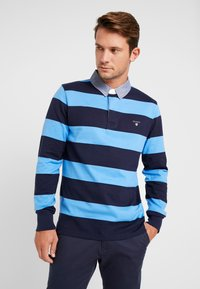 GANT - ORIGINAL HEAVY RUGGER - Polo shirt - pacific blue - 0