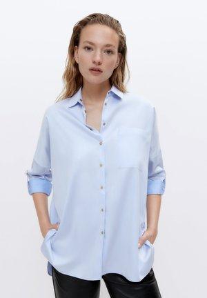 OVERSIZE-HEMD 00600254 - Button-down blouse - blue
