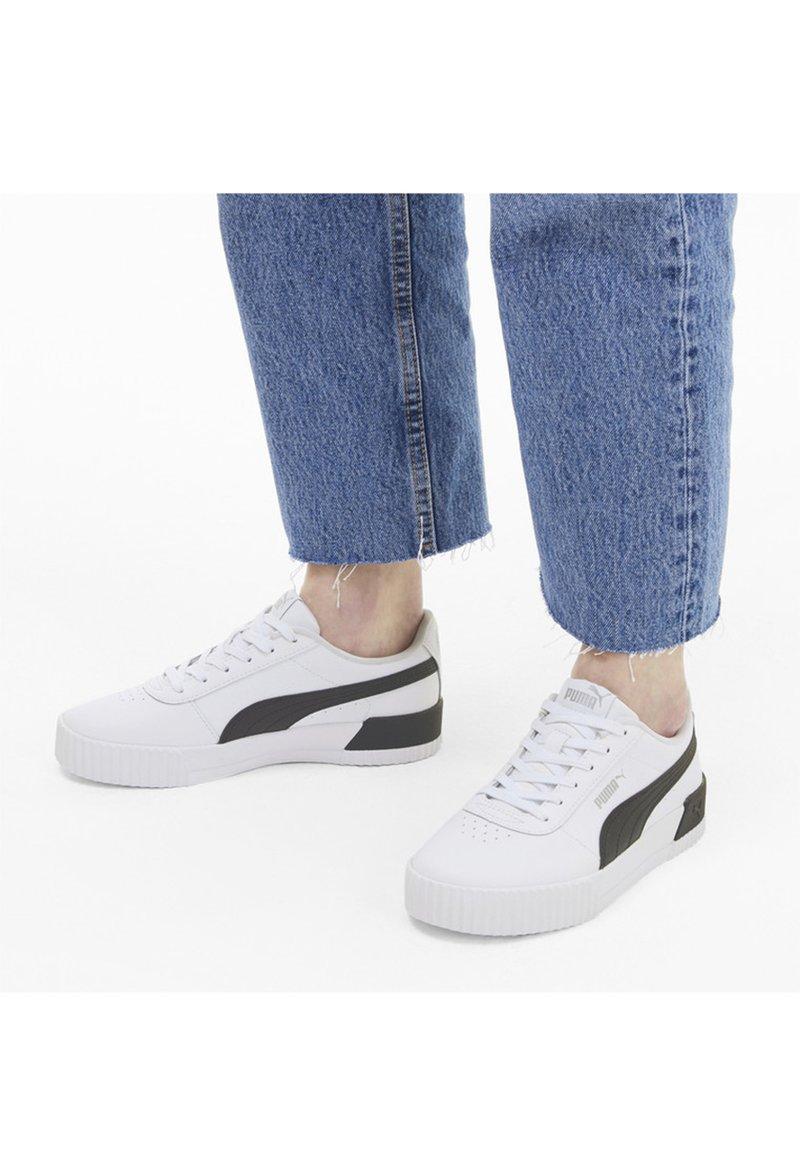 Puma - CARINA  - Sneaker low - puma white-puma black