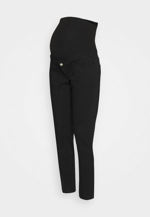 RIOT OVER BUMP COMFORT STRETCH - Vaqueros boyfriend - black
