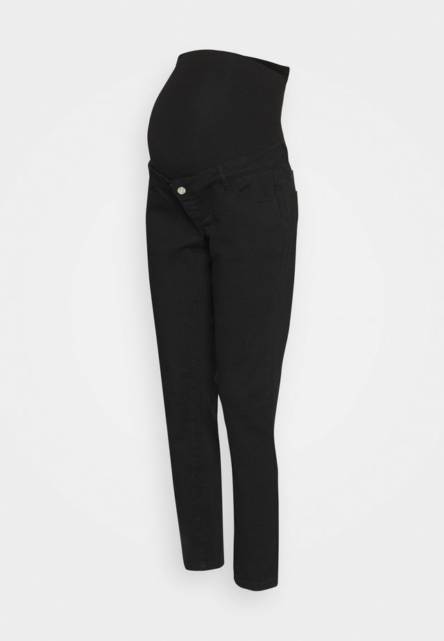 RIOT OVER BUMP COMFORT STRETCH - Jean boyfriend - black