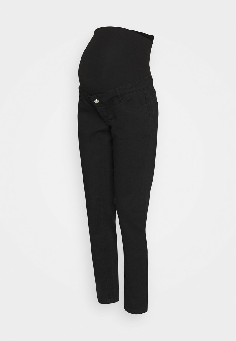 Missguided Maternity - RIOT OVER BUMP COMFORT STRETCH - Relaxed fit jeans - black