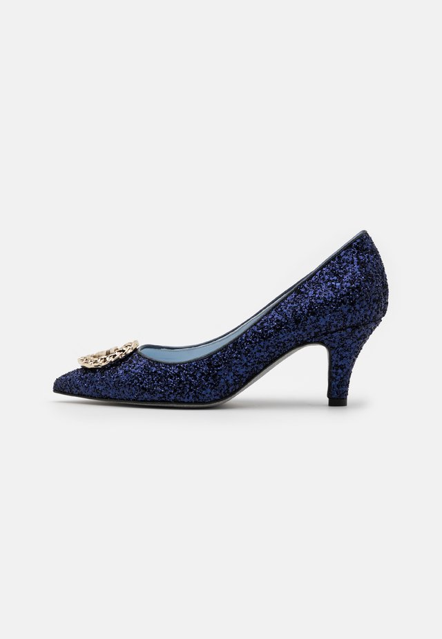 FIERCELY - Tacones - blue