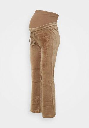 MOM ROSE  - Tracksuit bottoms - dark dusty beige