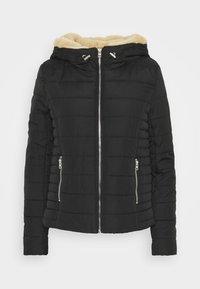 ONLSHELLY HOODED JACKET - Light jacket - black