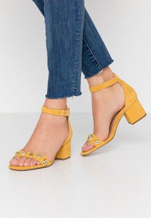TORSHELL - Sandals - ochre