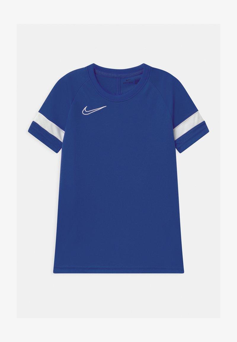 Nike Performance - ACADEMY UNISEX - Print T-shirt - game royal/white
