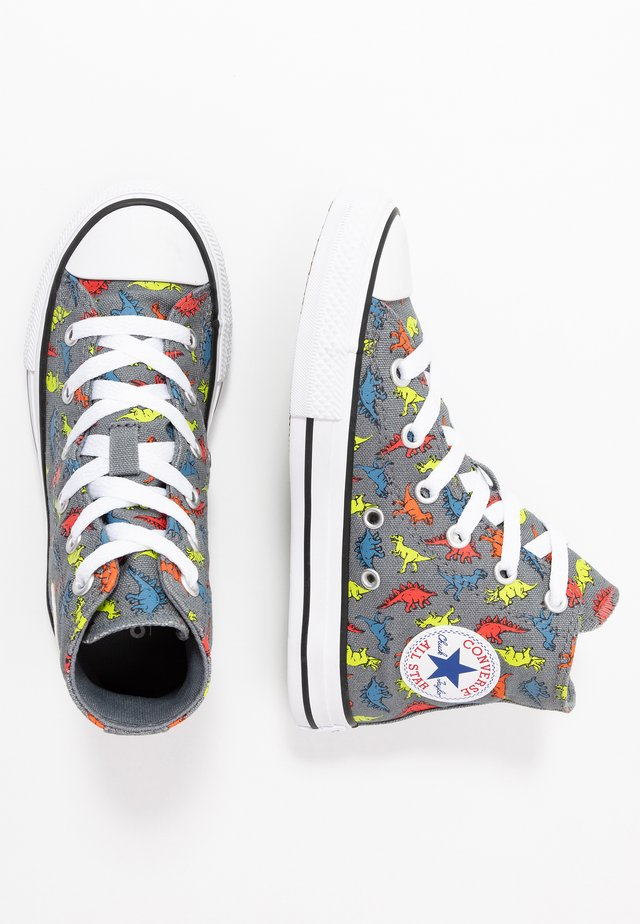 CHUCK TAYLOR ALL STAR DINOVERSE - High-top trainers - cool grey/black/white