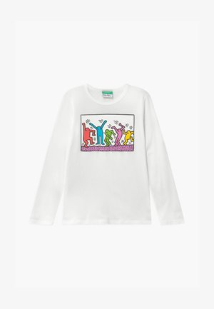 KEITH KISS GIRL - Longsleeve - white