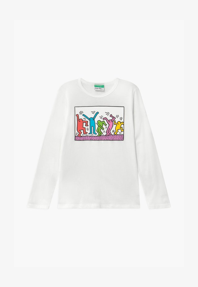 KEITH KISS GIRL - Long sleeved top - white