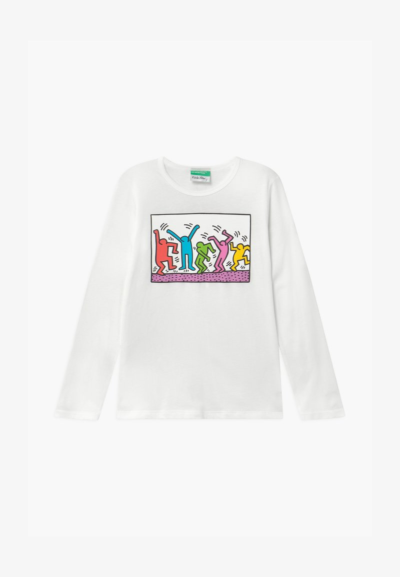 Benetton - KEITH KISS GIRL - Longsleeve - white