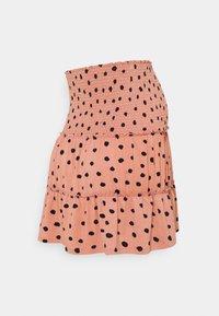 LOVE2WAIT - MINI SKIRT RUFFLES - Mini skirt - dusty rose - 1