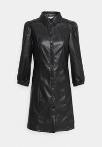 ONLY - ONLALLY DRESS  - Shirt dress - black - 1