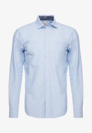 SLHSLIMMARK WASHED - Formální košile - light blue