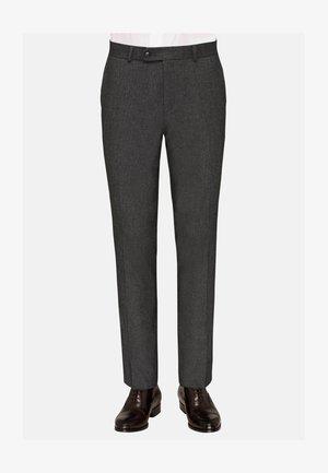 TOMTE - Suit trousers - grau