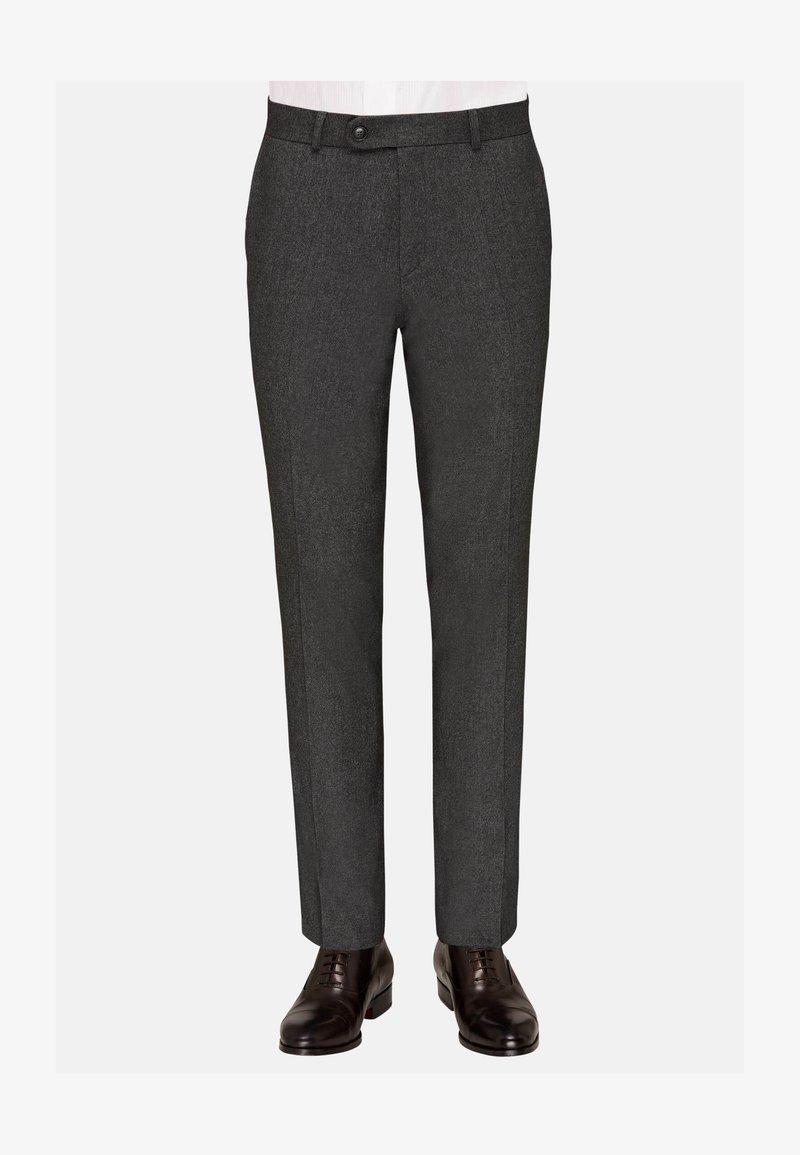 Carl Gross - TOMTE - Suit trousers - grau