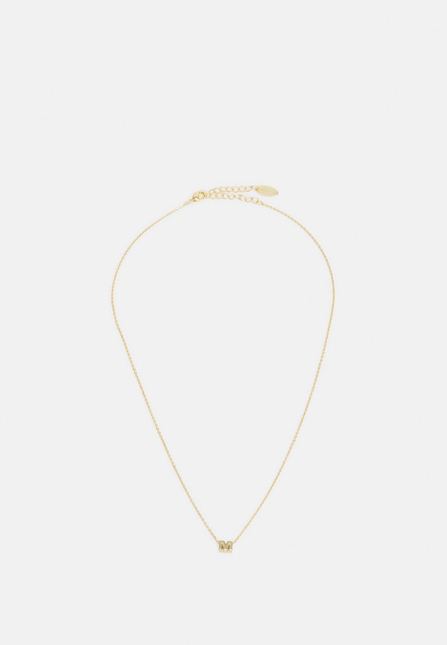 INITIAL GIFTBOX - Ketting - pale-gold-coloured