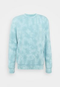 TIE DYE CREW - Sweatshirt - mellow blue