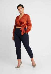 Glamorous Curve - WRAP  - Blouse - rust - 1