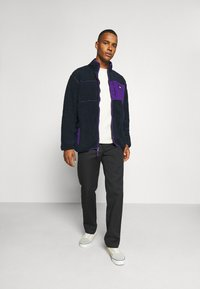 Dickies - CHUTE - Fleecejakker - dark navy/lilac - 1